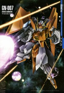 Rating: Safe Score: 9 Tags: gun gundam gundam_00 kusumegi_shinya mecha User: drop