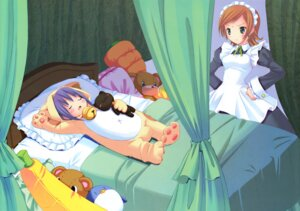 Rating: Safe Score: 11 Tags: animal_ears fixed kuroi_sumi maid moetan neko nekomimi penguin pop ruriko User: akumahai