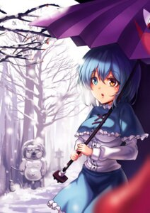 Rating: Safe Score: 23 Tags: heterochromia koissa tatara_kogasa touhou umbrella User: Mr_GT