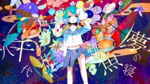 Rating: Safe Score: 11 Tags: kyaraai seifuku umbrella vocaloid yuzuki_yukari User: animrlovers