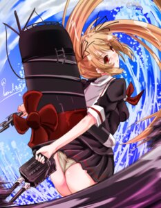 Rating: Questionable Score: 48 Tags: ass kantai_collection murasame_(kancolle) pantsu seifuku tsukineko User: 椎名深夏