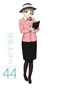 Rating: Safe Score: 3 Tags: detexted haneda_minato mibu_natsuki pantyhose tetsudou_musume User: Radioactive