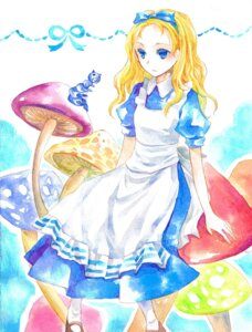 Rating: Safe Score: 10 Tags: alice alice_in_wonderland dress sorayami User: Radioactive