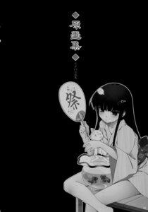 Rating: Safe Score: 9 Tags: aojiru hanamaru!_2 inyouchuu kowaku_no_toki monochrome neko tsukishiro_ouka yukata User: EchelonV