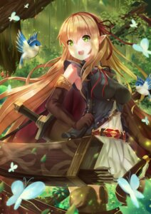 Rating: Safe Score: 33 Tags: arisa_(shadowverse) holmemee pointy_ears shadowverse sword weapon User: Mr_GT