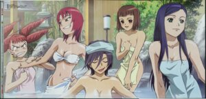 Rating: Questionable Score: 16 Tags: akane_soir chie_hallard cleavage crease fixme juliet_nao_zhang mai_otome morishita_hiromitsu naked natsuki_kruger onsen shiho_huit towel User: Radioactive