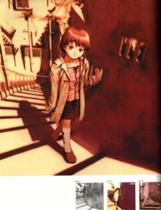 Rating: Safe Score: 8 Tags: abe_yoshitoshi iwakura_lain serial_experiments_lain User: Davison