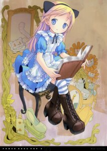 Rating: Safe Score: 26 Tags: alice alice_in_wonderland dress electromagnetic_wave heels neko pop User: BComFly