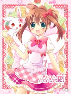 Rating: Safe Score: 11 Tags: aino_osaru jewelpet jewelpet_twinkle sakura_akari User: 椎名深夏