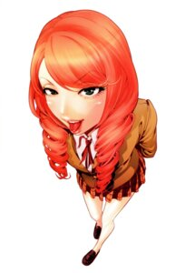 Rating: Safe Score: 30 Tags: hiramoto_akira prison_school seifuku takenomiya_kate User: Radioactive