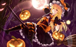 Rating: Safe Score: 41 Tags: bakanoe halloween heels kirisame_marisa pantyhose touhou witch User: Mr_GT