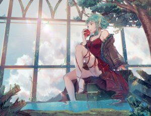 Rating: Safe Score: 58 Tags: cleavage dress gumi qingshui_ai vocaloid wet User: Mr_GT