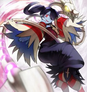 Rating: Safe Score: 15 Tags: dress garakuta skullgirls squigly_(skullgirls) weapon User: Mr_GT