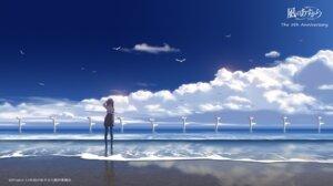 Rating: Safe Score: 48 Tags: higashiji_kazuki landscape nagi_no_asukara pantyhose seifuku shiodome_miuna User: kotorilau