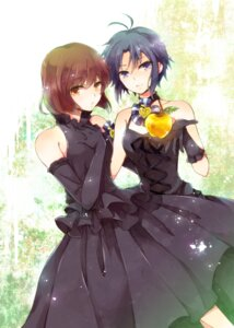 Rating: Safe Score: 13 Tags: dress hagiwara_yukiho kikuchi_makoto risui the_idolm@ster User: animeprincess