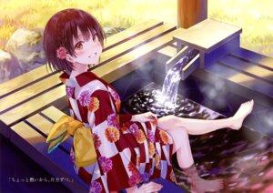 Rating: Safe Score: 50 Tags: feet fukahire_sanba ruinon sorai_mahiru tagme wet yukata User: kiyoe