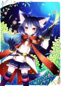 Rating: Safe Score: 30 Tags: animal_ears aruya pixiv_fantasia pixiv_fantasia_fallen_kings tail thighhighs User: fairyren