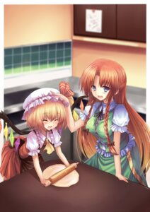 Rating: Safe Score: 12 Tags: dreamlight2000 flandre_scarlet hong_meiling touhou User: fairyren