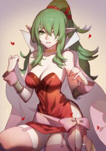 Rating: Safe Score: 43 Tags: chiki cleavage dress fire_emblem fire_emblem_kakusei pointy_ears songjikyo stockings thighhighs User: Mr_GT