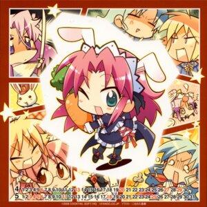 Rating: Safe Score: 7 Tags: animal_ears bunny_ears chibi komowata_haruka kurosu_misaki kurosu_miu megane moromizato_aoi pia_carrot sato_hina shiotsuki_sakura waitress User: admin2