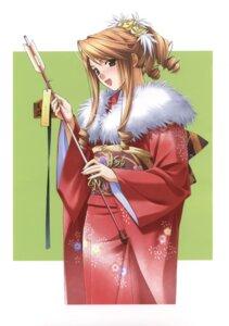 Rating: Safe Score: 9 Tags: hashimoto_takashi kimono User: androgyne