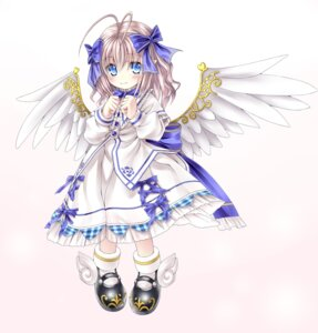 Rating: Safe Score: 19 Tags: angel_feather_alma dress emil_chronicle_online see_through wings User: lichtzhang