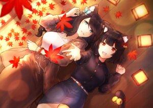 Rating: Safe Score: 16 Tags: animal_ears azur_lane fusou_(azur_lane) tagme tail yamashiro_(azur_lane) User: Mr_GT