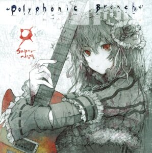 Rating: Safe Score: 20 Tags: disc_cover fuyuno_haruaki guitar lolita_fashion techno_fuyuno User: midzki