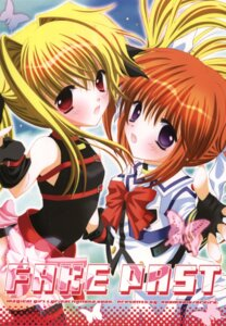 Rating: Safe Score: 6 Tags: fate_testarossa mahou_shoujo_lyrical_nanoha oreiro room0016 takamachi_nanoha User: petopeto