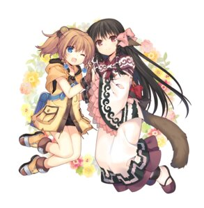 Rating: Safe Score: 60 Tags: animal_ears charis jiang-ge rurutie_(utawarerumono) tail tears_to_tiara_ii utawarerumono_itsuwari_no_kamen User: Mr_GT