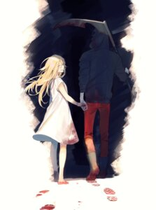 Rating: Safe Score: 13 Tags: bandages blood dress isaac_foster rachel_gardner satsuriku_no_tenshi vient weapon User: charunetra