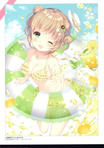 Rating: Safe Score: 41 Tags: swimsuits w.label wasabi_(artist) User: kiyoe