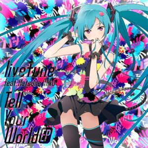 Rating: Questionable Score: 48 Tags: disc_cover hatsune_miku headphones jpeg_artifacts mebae nopan tell_your_world_(vocaloid) thighhighs vocaloid User: milumon