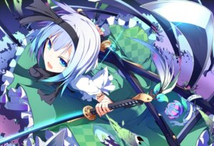 Rating: Safe Score: 27 Tags: ichiyan_(artist) konpaku_youmu sword touhou User: 椎名深夏