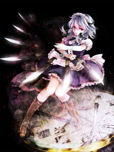 Rating: Safe Score: 20 Tags: awa_toka izayoi_sakuya touhou User: Mr_GT
