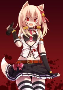 Rating: Safe Score: 48 Tags: animal_ears blood chiri_(atlanta) kitsune tail ten'inkou_korin thighhighs yandere User: LS1088