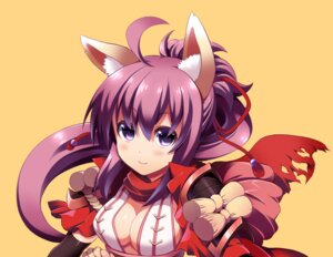 Rating: Safe Score: 21 Tags: animal_ears chibi_(nekomimimi) cleavage User: fairyren