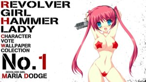 Rating: Questionable Score: 34 Tags: aliasing gun kai_(company) maebari maria_dodge pasties revolver_girl_hammer_lady shimesaba_kohada wallpaper User: Anonymous