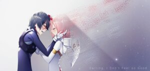 Rating: Safe Score: 16 Tags: bodysuit darling_in_the_franxx hiro_(darling_in_the_franxx) horns nomchii parody zero_two_(darling_in_the_franxx) User: 김도엽