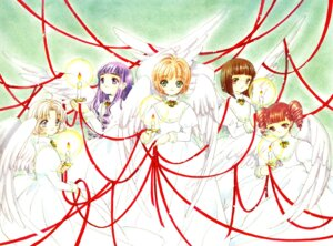 Rating: Safe Score: 9 Tags: card_captor_sakura christmas clamp daidouji_tomoyo dress fixed kinomoto_sakura mihara_chiharu sasaki_rika wings yanagisawa_naoko User: cosmic+T5