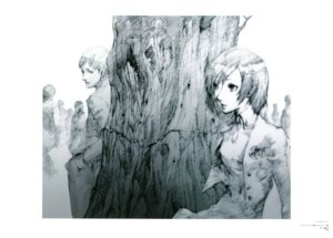 Rating: Safe Score: 13 Tags: monochrome soejima_shigenori User: Aurelia