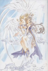 Rating: Safe Score: 11 Tags: ah_my_goddess belldandy fujishima_kousuke holy_bell User: minakomel