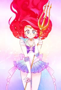 Rating: Safe Score: 21 Tags: cleavage cosplay crossover princess_ariel sailor_moon shira_(busi) the_little_mermaid weapon User: charunetra