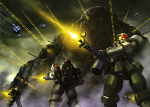 Rating: Safe Score: 4 Tags: gundam gundam_wing mecha User: Radioactive