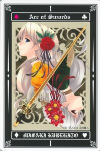 Rating: Safe Score: 13 Tags: misaki_kurehito tarot User: Radioactive