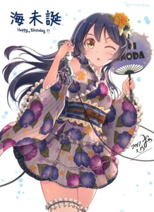 Rating: Safe Score: 34 Tags: lolita_fashion love_live! minamixdrops sonoda_umi thighhighs wa_lolita User: Mr_GT