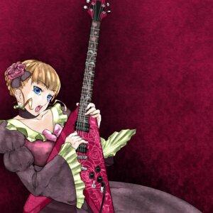 Rating: Safe Score: 5 Tags: beatrice dress guitar oshiruko umineko_no_naku_koro_ni User: Nei