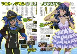 Rating: Safe Score: 10 Tags: crossdress klan_klein macross macross_frontier ootsuka_yae saotome_alto trap User: Aurelia