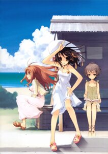 Rating: Safe Score: 32 Tags: asahina_mikuru dress ito_noizi nagato_yuki summer_dress suzumiya_haruhi suzumiya_haruhi_no_yuuutsu User: Kalafina