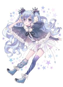 Rating: Safe Score: 21 Tags: dress fuyu_no_yoru_miku tagme thighhighs vocaloid User: charunetra
